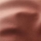 China grabó semi la materia textil casera de cuero sintetizada de cuero de la PU (807#)