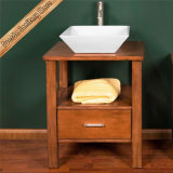Vanidad de calidad superior del cuarto de baño de madera sólida de Fed-1835 China, gabinete del baño