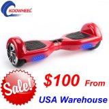 Due rotelle Hoverboard motorino d'equilibratura di auto astuto di 6.5 pollici