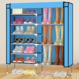 Neues 9-Tier Metal Frame Waterproof Cloth Shoe Cabinet (WS16-0046, für Hauptmöbel)