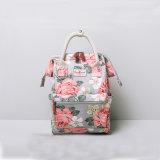 Sac d'épaule floral de deux de tailles de tirette de fermeture sacs à dos de roses (CK009-2)