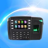 Carte biométrique d'empreinte digitale et de carte RFID Présence avec ID (TFT600 / ID)