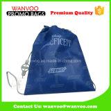 Sac bleu de sac à dos d'école de polyester de modèle neuf pour le sport