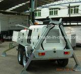 Gruppo elettrogeno mobile della torretta chiara di serie H1000/generatore diesel