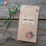 재생된 48k Mini Kraft Paper Cover Sewing Notebook