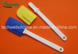 Spatule de silicones de vaisselle de cuisine de catégorie comestible