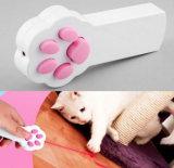 Задвижка кота типа лапки взаимодействующий любимчик указателя игрушки СИД истребителя тренировки указателя СИД светлый светлый царапая инструмент тренировки