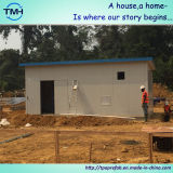 Flaches Dach-kleines vorfabriziertes Haus in Südafrika