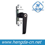 Fechamento elétrico do punho do gabinete do metal preto (YH9696)