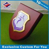 Le trophée fait sur commande de l'acrylique +Metal, le trophée en cristal a estampé votre logo