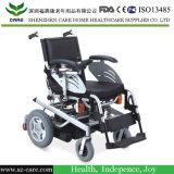 Облегченная портативная складывая кресло-коляска электричества
