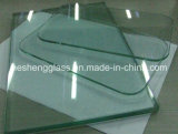 Flat Polished Edge를 가진 5mm Plain Tempered Glass