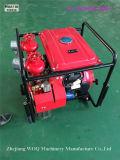Bj 20A 2개의 출구를 가진 대용량 휴대용 화재 싸움 펌프