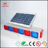 움직일 수 있는 Solar Panel LED Light 또는 Portable LED Red Blue Warning Lights Traffic Expressway Solar Freeway Warning Light Super Highway Waterproof Solar Light