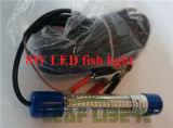 luz sumergible subacuática de la luz del señuelo del cebo de pesca del calamar de la noche del verde LED de la baja tensión 12V