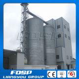 silos de graines 3000t pour l'usine alimentante de porcelet