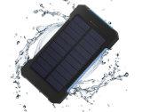 Сделайте крен водостотьким силы 10000 mAh солнечный портативный передвижной