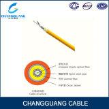 Câble à un noyau d'armature de câble de fibre optique d'intérieur de qualité