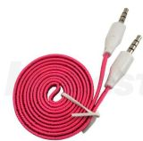 3.5mm Fabric Braided Aux Stereo Extension Audio Cable