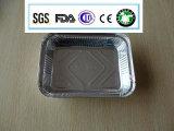 8011 O 템퍼 처분 및 환경 친화적 인 알루미늄 호일 음식 접시