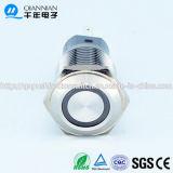 Qn16-F1 16mm Kortstondig Type van Ring|Het sluiten van de Vlakke HoofdSchakelaar van de Drukknop