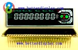Mètre utilisé par affichage d'affichage à cristaux liquides de conception de Customerized de panneau d'affichage à cristaux liquides