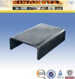 Tamanho da barra da canaleta em U do aço suave de ASTM A36
