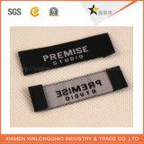 Personalizar impresión impresa prendas de vestir etiqueta de servicio etiqueta tejida etiqueta de la ropa