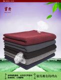 Iaques feitos malha/cobertor Merino do velo de lãs para o verão