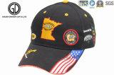 L'étiquette de connexion tissée par insigne dernier cri d'OEM folâtre la casquette de baseball de chapeau