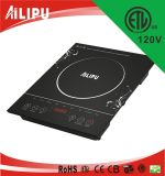 Плита электрической индукции индикации числа прибора кухни 120V 1500W ETL 4