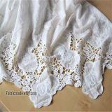 Tela de encaje de algodón más nuevo (6218)