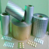 Folha de alumínio laminada farmácia da parte inferior da bolha para a medicina