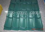Цветастый лист толя металла Aluzinc/Pre-Painted гальванизированная стальная плитка крыши