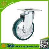 PU auf Steel Rim Wheel für Industrial Caster