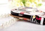 Cubierta de cuero principal grande de los amantes lindos calientes de la historieta para iPhone6