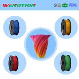filament d'imprimeur du filament 3D d'ABS de 1.75mm pour l'imprimeur 3D