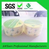 Las mejores cintas de embalaje BOPP precio del pegamento adhesivo acrílico Crystal Clear