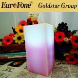 LED Square Candle Vela por atacado perfumada / cera de vela