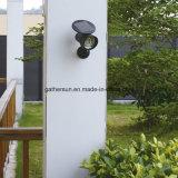 Lámpara accionada solar impermeable de la seguridad del sensor de PIR para la aplicación al aire libre