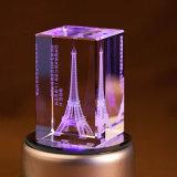 Heißer Kristalllaser-Gravierfräsmaschine-Preis des Verkaufs-3D mit bester Qualität