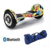 Char chaud global d'équilibre d'individu de Bluetooth de la roue 10inch