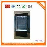 Glasschaukasten passte Schmucksache-Bildschirmanzeige-Schaukasten-und System-Kostenzähler-Entwurf und Aufsatz-Bildschirmanzeige an