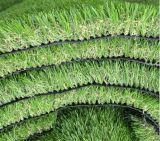 Gazon artificiel multicolore à feuilles persistantes pour l'horizontal de jardin