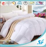 品質の白50% 50%の羽の慰める人のキルトの羽毛布団の挿入100%年の綿