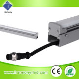 Arandela al aire libre de la pared de la C.C. 24V DMX LED del Muti-Color LED 18W