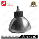 lumière élevée extérieure industrielle de compartiment de 50W DEL avec du ce, FCC, RoHS