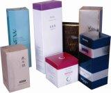 Boîte de cadeau de papier de empaquetage cosmétique de vente chaude