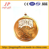 2015 preiswerte Hight Qualitätskundenspezifische Metallhouston-Medaille