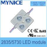 O módulo do diodo emissor de luz do brilho elevado de DC12V/24V SMD5730 3LED/Module para a garantia das letras de canaleta é UL de RoHS do Ce 3years aprovado
